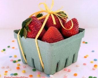 Strawberry Baskets - Set of 12 Berry Baskets