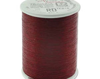 Red Nozue Sonoko Nylon Japanese Beading Thread 110 yards 100 meters