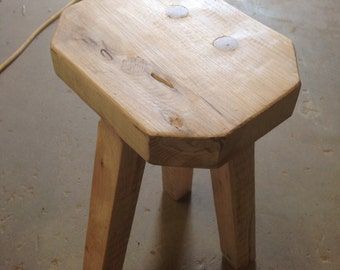 Custom Antiqued Stool