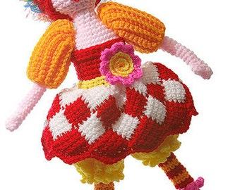 Crochet Gwendolyn Doll pdf pattern