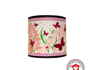 "Child lamp applique ""Swarm of butterflies"""