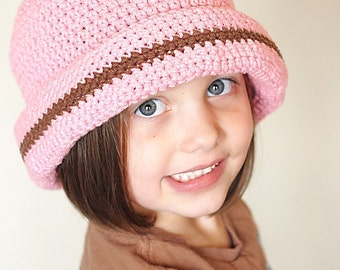 Sydney Hat Crochet Pattern *Instant Download* (Permission to sell all finished products)