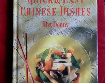 Vintage Cookery Book: Quick and Easy Chinese Dishes by Roz Denny Sainsbury's Recipe Library, London 1990