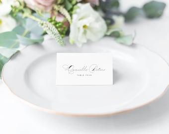 Tabitha wedding place cards, calligraphy wedding place cards, wedding name cards, wedding seating plan, wedding decor table decor