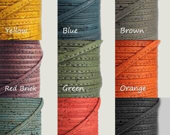 Cork String 6mm - Colors