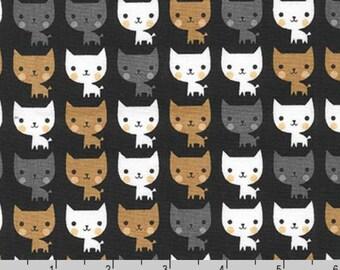 Suzy's Minis - Cats Black by Suzy Ultman from Robert Kaufman