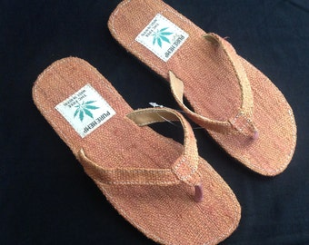 Pure Hemp Eco Friendly Bohemain Flip Flops