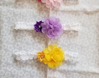 Light Summer Blossoms Headbands