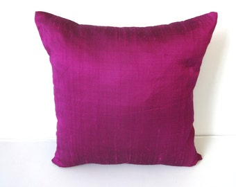 Majantha and black short dupioni silk  cushion cover and throw pillow reduce  price  20 % off. 18 inch- 2 in stock