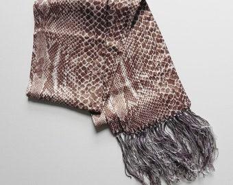 prints charming ~ snake scarf
