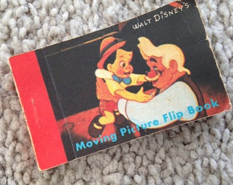 Softcover Walt Disney's Pinocchio and Geppetto Flip Book Two Stories
