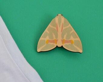 Jungle James Moth Brooch