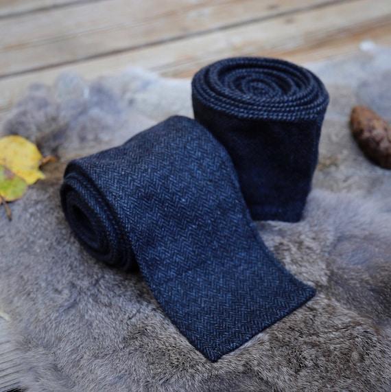 Viking Nightfall Blue Wool Leg Wraps Winingas Vindingr Wickelbander vaf-spjôrr, Garb, Norse, SCA, LARP, Anglo Saxon, Armor, Reenactment