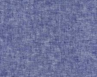 0.5m Essex Yarn Dyed Linen - Denim