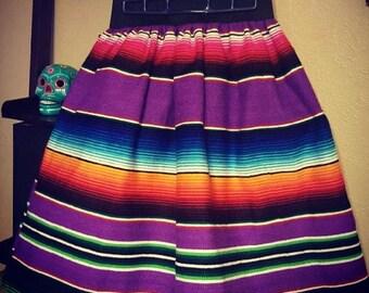 Custom Sarape Swing Skirt