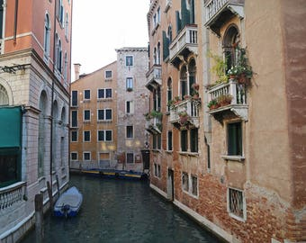Venice Photography, Italy Print, Venetian Art, Travel Wall Decor, Italian Wall Art, Venice City Photo, Travel Photo, European City Art