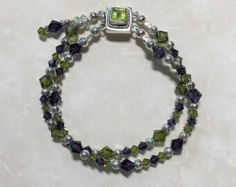 Swarovski Sterling Silver Bracelet