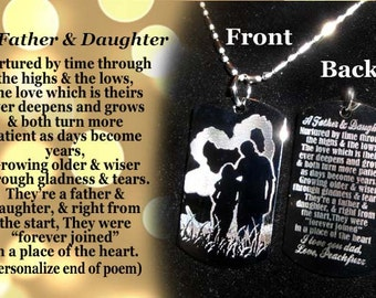 Father and Daughter, Father daughter gift, Daddy daughter gift, Daddy and Daughter, Daddy & me gift, Father Daughter, Dad to Daughter gift