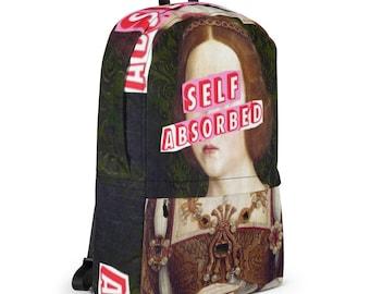 self absorbed backpack