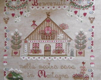 INSTANT DOWNLOAD Vacanze in Montagne PDF counted cross stitch patterns by Cuore e Batticuore e-pattern at thecottageneedle.com