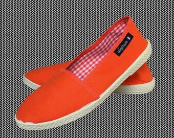 Vintage Airplum / slip on shoes / espadrilles / canvas shoes / summer shoes / vintage shoes / jute rope / slip ons