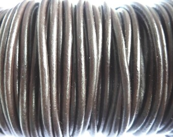 leather cord 3 mm Brown PR01000 100 m