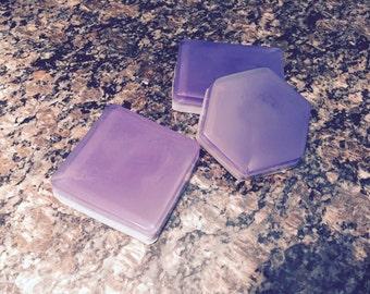 Blackberry vanilla scented bar soap