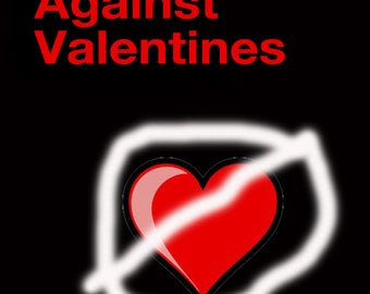 SALE Hearts Against Valentines, Cards you'll fall in love with