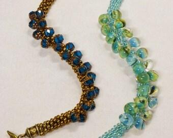 Kumihimo Caterpillar Bracelet Tutorial, Instructions, How-To, Digital File