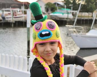 Mr. Dinkles Trolls Movie Crochet Hat, Trolls Mr. Dinkles Costume Wig, Mr. Dinkles Halloween Costume, Trolls Birthday Gift, Boys Crochet Hat