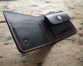 Mens Wallet - A Handcrafted Bi-fold Leather Wallet With Coin Pouch and Note Slot