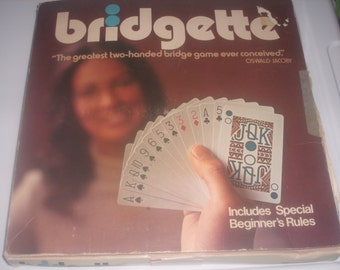 Vintage Bridgette Card Game