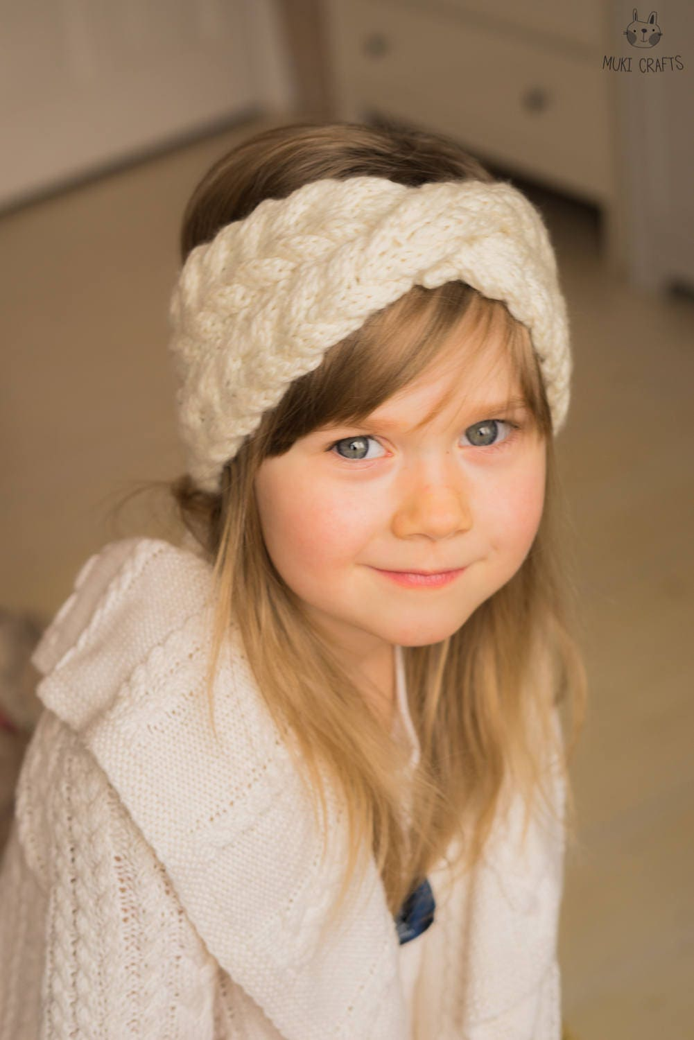 KNITTING PATTERN cable headband with a twist Iverson (kids and adult ...