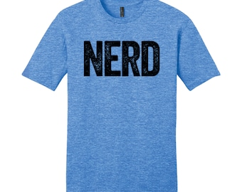 Men's Cool Nerdy Shirt Geekery Video Game Shirt Geek Chic Funny Shirt Gifts for Teachers Gift Nerdy Cool Funny T Shirt Man Typography Tshirt