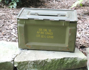 The WW2 50 Ammodor tactical ammo can cigar humidor