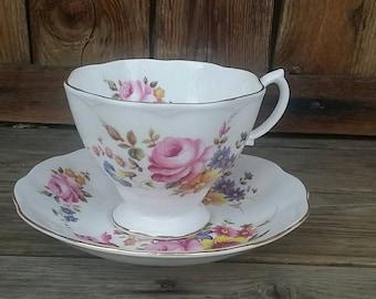 Tea Cup and Saucer Royal Albert Bone China