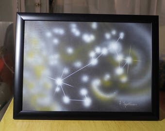 SAGITTARIUS (4) | Astrological Constellation | Painting