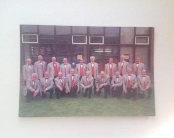 Liverpool Barbershop Harmony Club 'The Grand National Chorus' Postcard