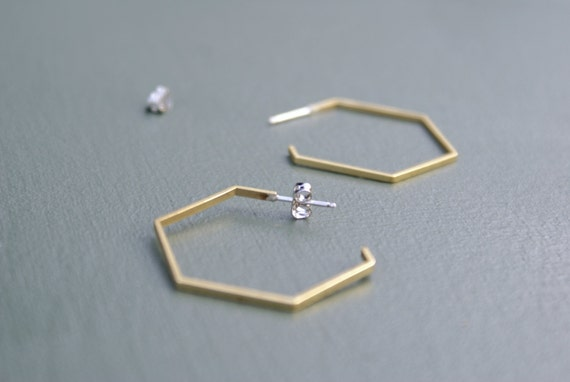 the Brass Hexa hoops