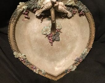 Forever yours beautiful plate or trinket plare