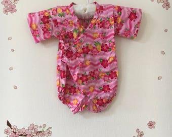Baby Kimono, Baby Kimono Romper, Baby Kimono Girl, Baby Kimono Outfit, Baby Outfit, Toddler Kimono, Baby Outfit Photo Prop, Baby Kimono Top