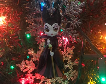 Malificent from Sleeping Beauty Holiday Christmas Ornament