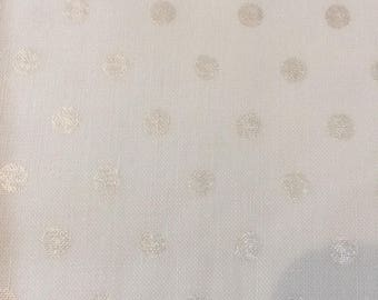 Magical Moments Frost Metallic Dots by Blank Textiles