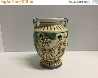 Sale Vintage Grecian Urn Greek Urn Made in Japan Urn Vase