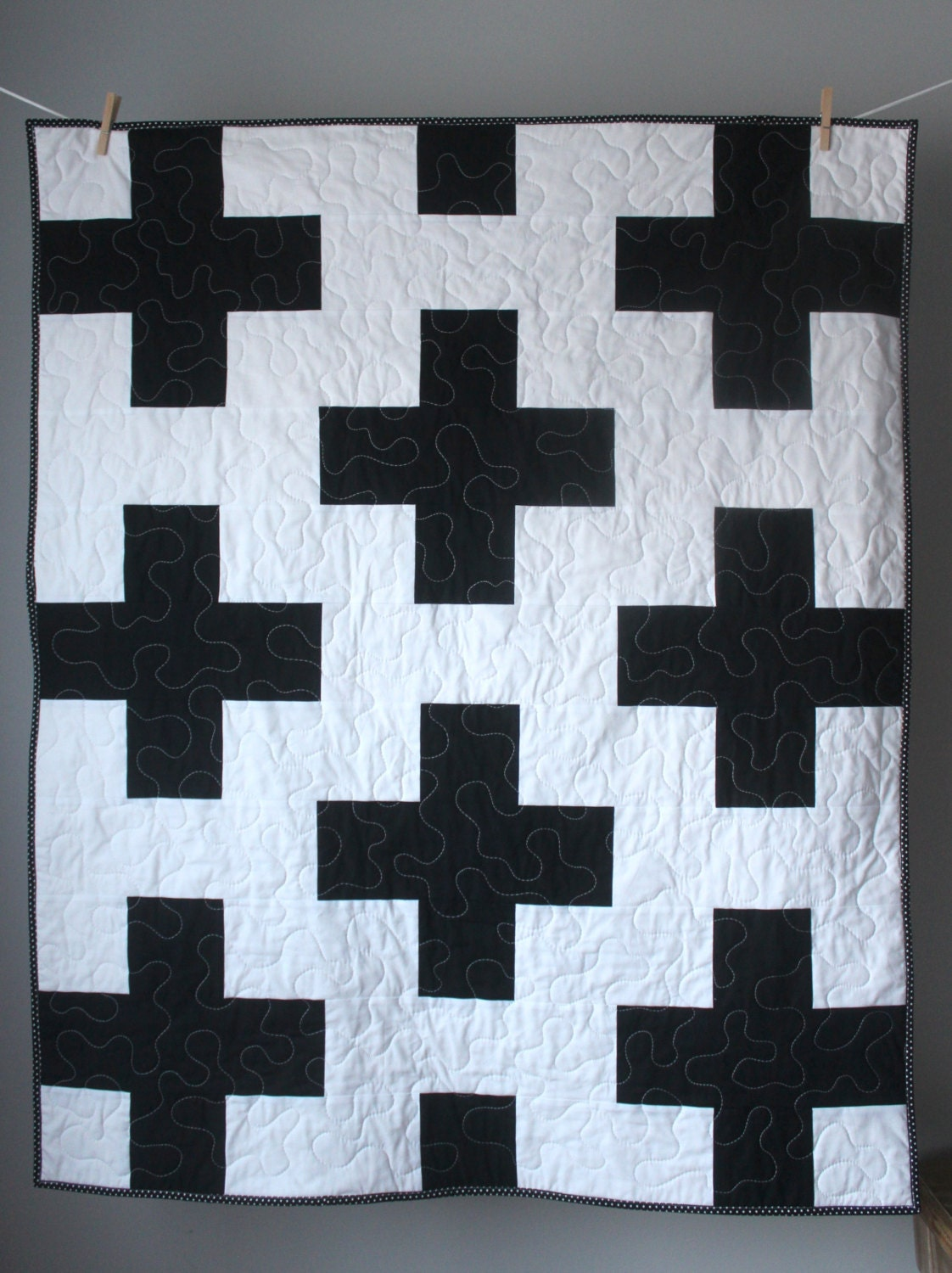 pin contemporary quilters and white quilting cream quilt black lap modern