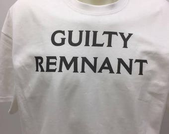 Guilty Remnant Tshirt