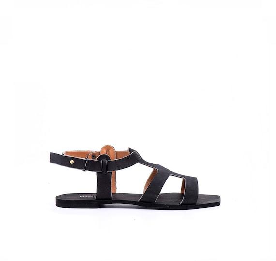 Greek Sandals Shoes Sandals Flat Boho Black Sandals Sandals Women Greek Summer Strap Leather Sandals Women's Sandals Sandals Sandals qrZXq4