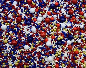 Edible Sprinkles - Bon Voyage Sprinkle Mix