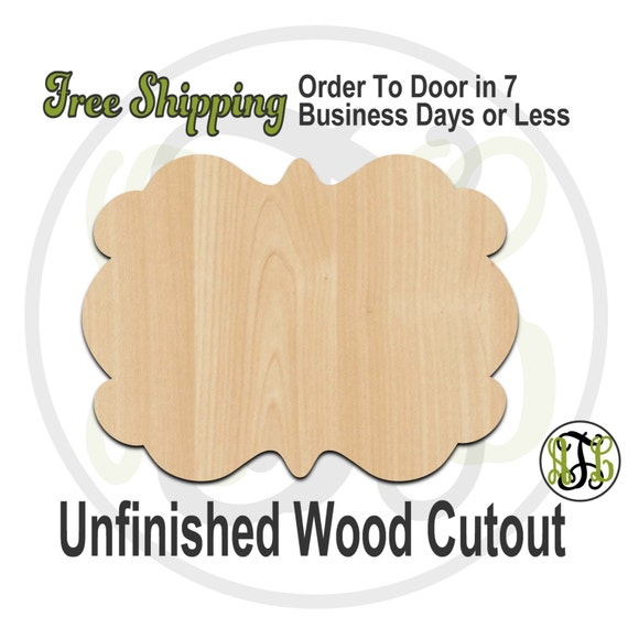 Plaque Tara - 40033- Cutout, unfinished, wood cutout, wood craft, laser cut shape, wood cut out, DIY, Free Shipping