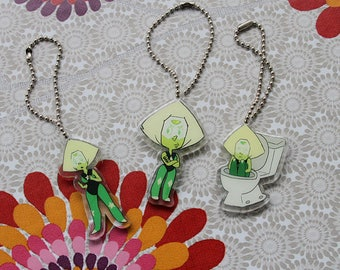 Steven Universe Peridot charm 3 different styles